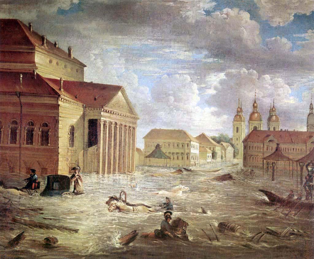 bibliophagus: Петербургское наводнение 1824 года