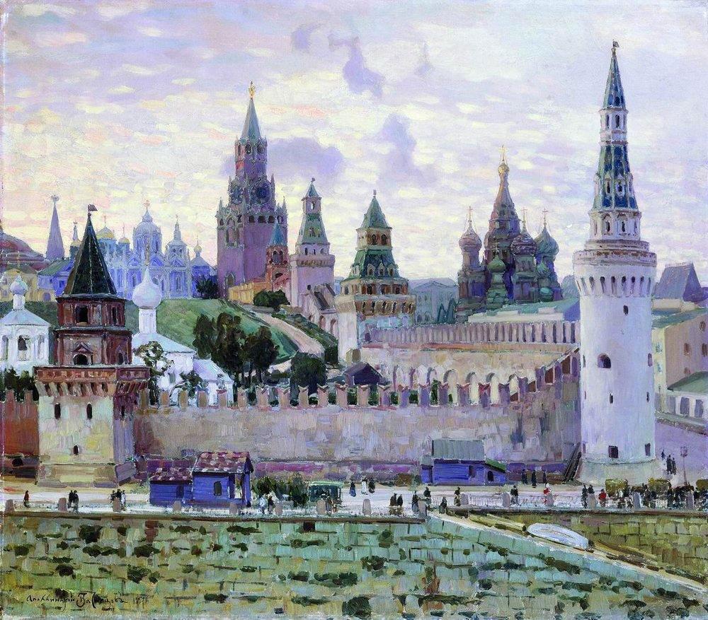 А м васнецов московский кремль 1897